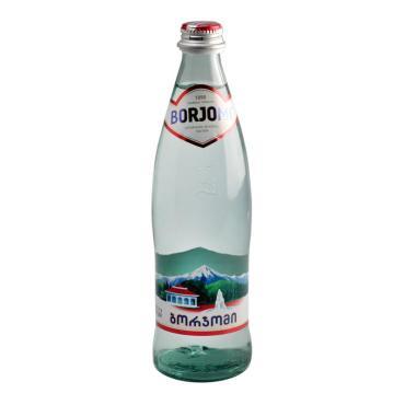 Вода Borjomi минеральная природная гидрокарбонатно-натриевая,500 мл.,стекло