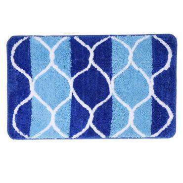 Коврик для ванны Доляна Вега 45х75 сантиметров цвет синий