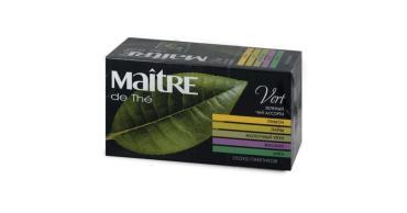 Чай Maitre de The Жасминовый зеленый 45 гр