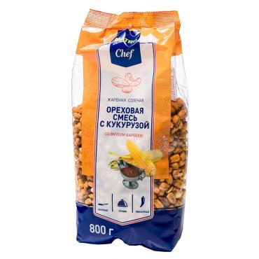 Ореховая смесь Metro Chef с кукурузой со вкусом барбекю