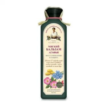 Бальзам для волос Мягкий, восстановление и защита, Рецепты бабушки Агафьи, 350 мл., Пластиковая бутылка