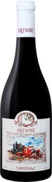 Вино красное сухое Крымский берег Саперави, 750 мл., стекло