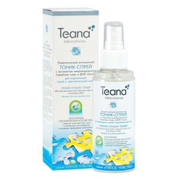 Тоник-спрей Teana энергетический матирующий с лактоферрином
