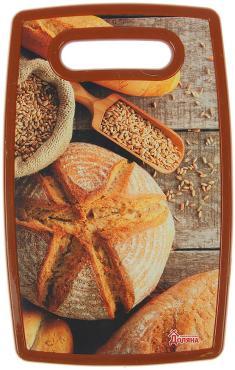 Доска разделочная Доляна Хлеб 30х20 см. прямоугольная