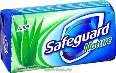 Мыло туалетное Safeguard алоэ 100г
