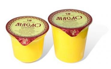 Масло Топленое, Зимаречье, 350 гр., пластиковый стакан