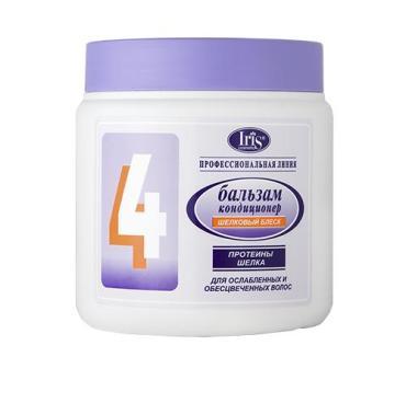 Профи Бальзам Iris 4 Шёлковый блеск для ослабленных осветлённых волос
