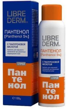 Спрей для тела Librederm Пантенол 5% с гиалуроновой кислотой