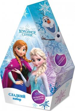 Конфеты сладкий набор Конфитрейд Disney Холодное Сердце Маленькая Елка, 80 гр., подарочная упаковка