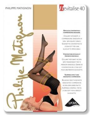 Колготки Philippe Matignon Revitalise 40 den, 100 гр., бумажная упаковка