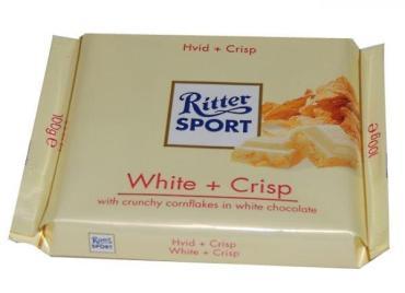 Шоколад Ritter Sport Weiss Crisp
