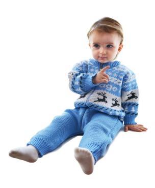 Комбинезон для мальчика, 22-62-68, белый, голубой, Golden Kids, Твигги, Россия, пластиковый пакет