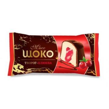 Конфеты со вкусом творога и клюквы Сибирская белочка Miss Шоко, 500 гр.