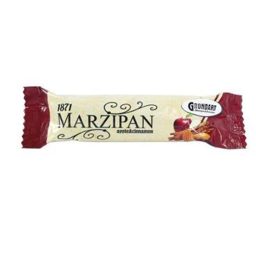 Марципановый батончик с начинкой яблоко и корица Grondard, 50 гр., флоу-пак