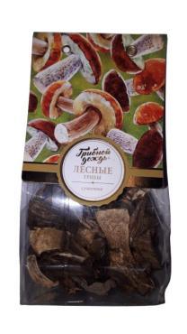 Грибы лесные Грибной Дождь сушеные, 30 гр., пластиковый пакет