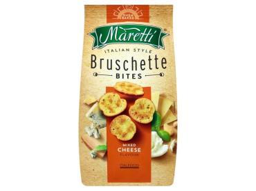 Хлебные ломтики со вкусом Сырный микс, Maretti, 70 гр, флоу-пак