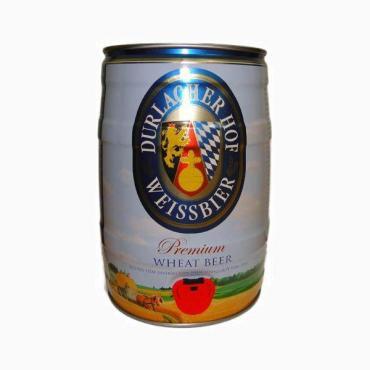 Пиво Durlacher Hefe Weissbier светлое 5,3%