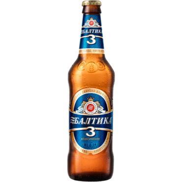 Пиво Балтика Классическое №3 светлое 4,8%