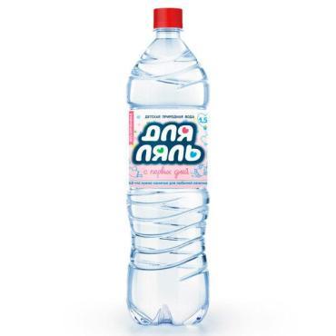 Вода Для Ляль детская природная негазированная