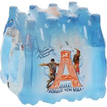 Вода минеральная Арарат газированная лечебно-столовая 1 л