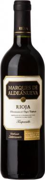 Вино Маркес де Альдэануэва Ховен / Marques de Aldeanueva Joven,  Темпранийо,  Красное Сухое, Испания