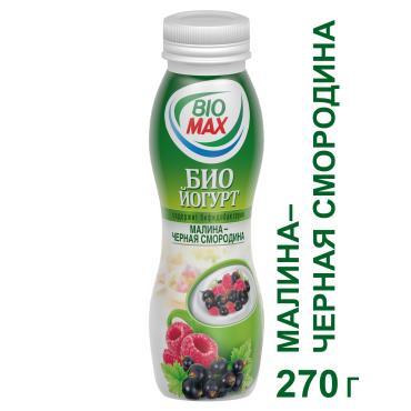 Биойогурт пит Bio-Max Мал-Смор.черн 2.7% 1х15х270г БП