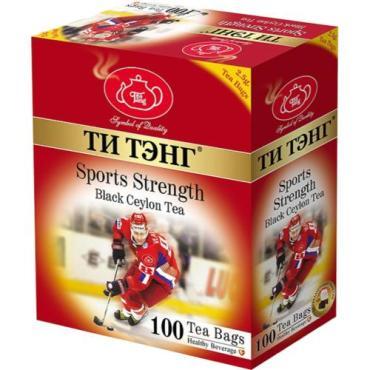 Чай черный Ти тэнг Sports Strength 100 пакетов