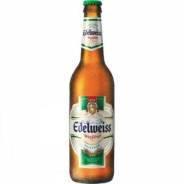 Пиво светлое пшеничное 5,5% Edelweiss 450 мл., Стекло