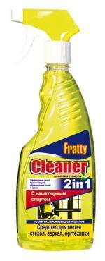 Средство для мытья стекол, зеркал, оргтехники Fratty Лимонная свежесть