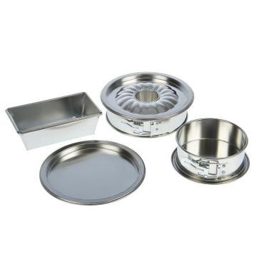 Набор форм Доляна для выпечки круглые, прямоугольная