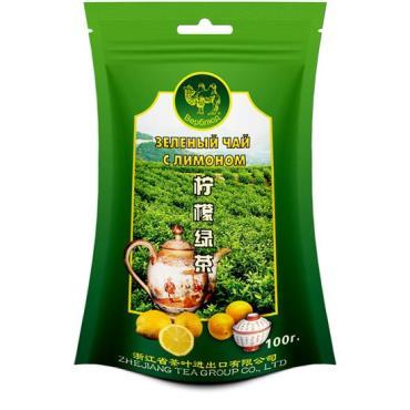 Чай Верблюд зелёный с лимоном