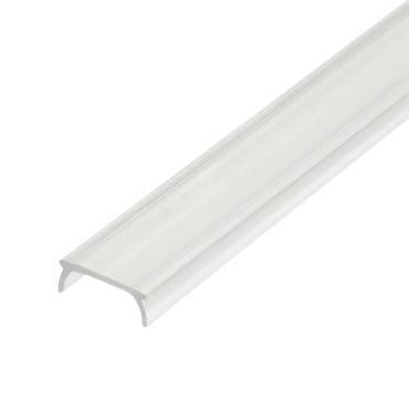 Прозрачный рассеиватель для алюминиевого профиля, пластик, длина 200 см., UFE-R02 CLEAR 200 POLYBAG, Uniel, 50 гр.