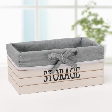 Короб для хранения Доляна Storage средний белый
