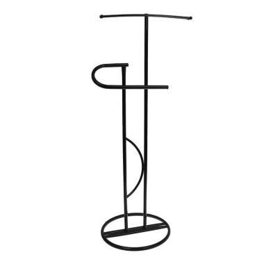Вешалка-стойка Доляна Галант, цвет чёрный 40×40×120 см.