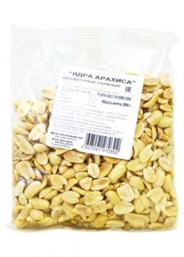 Арахис соленый Золотой Урожай, 200 гр., пластиковый пакет
