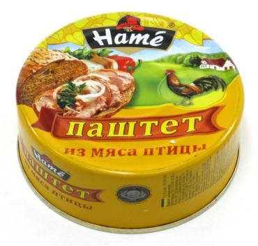 Паштет Hame с мясом птицы