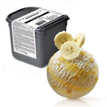 Мороженое Movenpick банан, 2,4 кг., пластиковый контейнер