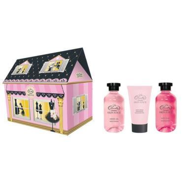 Подарочный набор Liss Kroully женский Skin juice Домик розовый