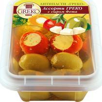 Ассорти Greco с сыром Фета в масле