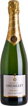 Шампанское брют белое Champagne Gremillet Zero Dosage Nature, Франция, 750 мл., стекло