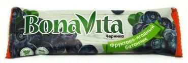 Батончик Bona Vita Черника фруктово-ягодный