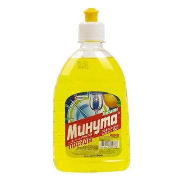 Средство для мытья посуды Минута Лимон