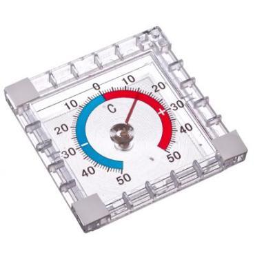Термометр, оконный, биметаллический, -50 +50, Insalat