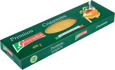 Макароны Granmulino Premium Спагетти, 400 гр., картонная коробка