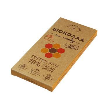 Шоколад Шоколад На Меду Горький 70% какао С Пчелиной Пергой