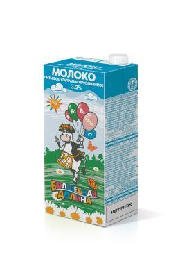 Молоко Волшебная долина Ультрапастеризованное 3,2%