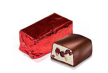 Конфеты Torrone Нуга мягкая в белой шоколадной глазури