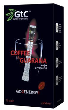 Кофе GTC с гуараной в стиках