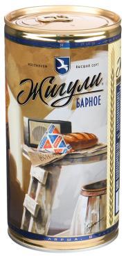 Пиво светлое Жигули Барное фильтрованное пастеризованное 4,9% 0,9 л.