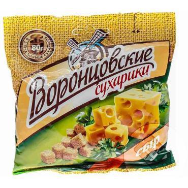 Сухарики Воронцовские Пшеничные со вкусом сыр